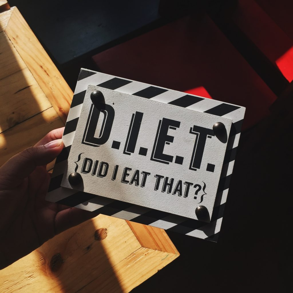 DIET did I eat that